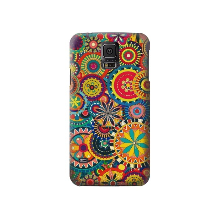 Printed Colorful Pattern Samsung Galaxy S5 Case