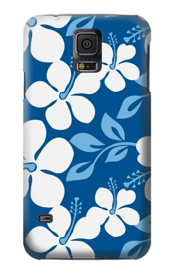 Printed Hawaii Blue Pattern Samsung Galaxy S5 Case