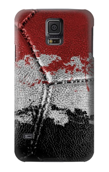Printed Egypt Flag Vintage Football 2018 Samsung Galaxy S5 Case