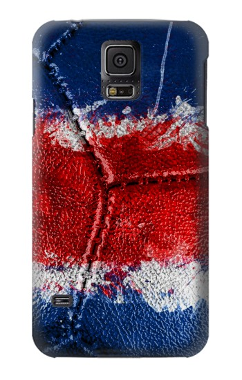 Printed Costa Rica Flag Vintage Football 2018 Samsung Galaxy S5 Case