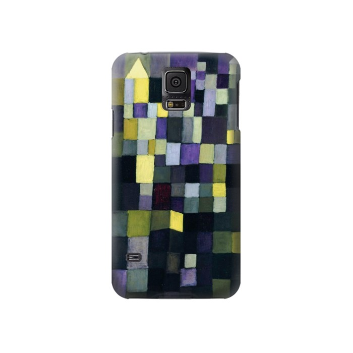 Printed Paul Klee Architecture Samsung Galaxy S5 Case