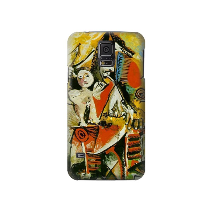 Printed Picasso Painting Cubism Samsung Galaxy S5 Case