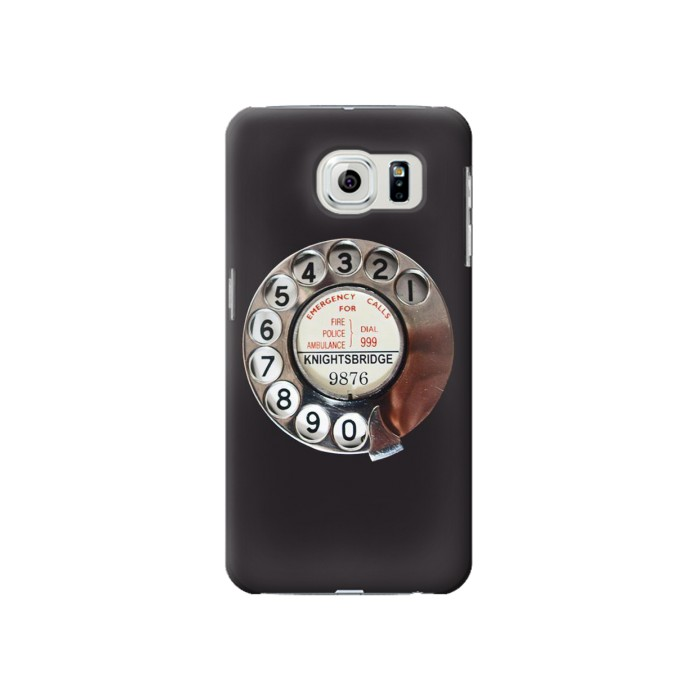 Samsung Galaxy S6 Retro Rotary Phone Dial On Case Cover