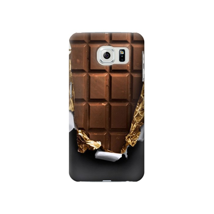 Printed Chocolate Tasty Samsung Galaxy S6 Case