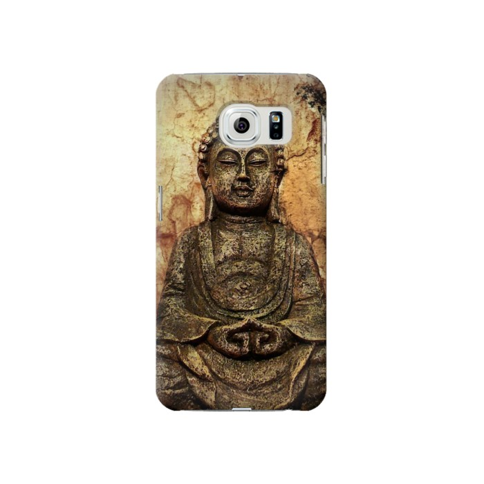 Printed Buddha Rock Carving Samsung Galaxy S6 Case