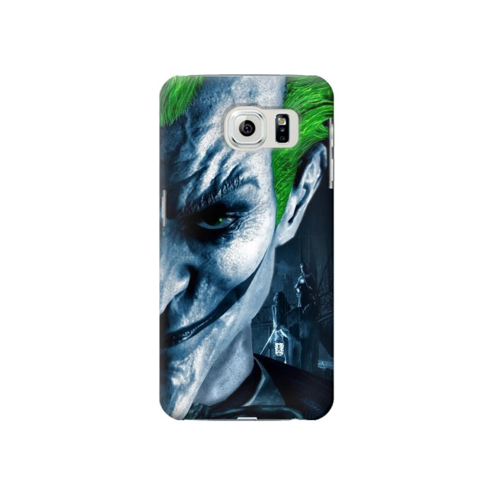 Printed Joker Samsung Galaxy S6 Case