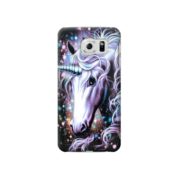 Printed Unicorn Horse Samsung Galaxy S6 Case
