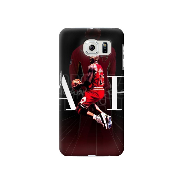 Printed Basketball Air Jordan Samsung Galaxy S6 Case