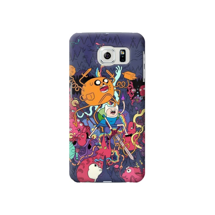 Printed Adventure Time Samsung Galaxy S6 Case