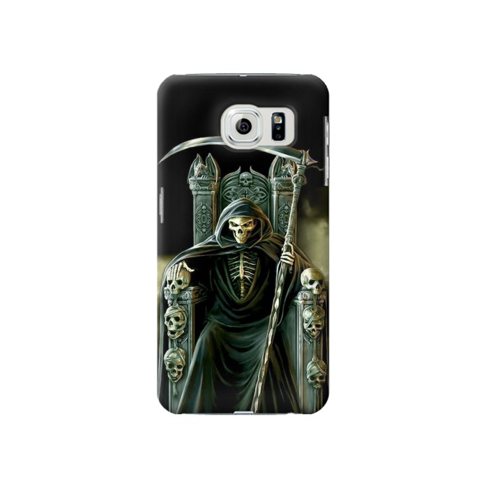 Printed Grim Reaper Skeleton King Samsung Galaxy S6 Case