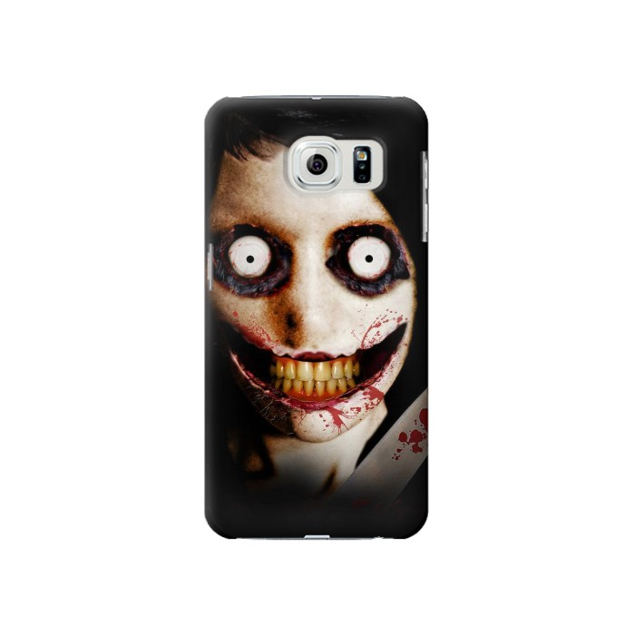 Printed Jeff the Killer Samsung Galaxy S6 Case