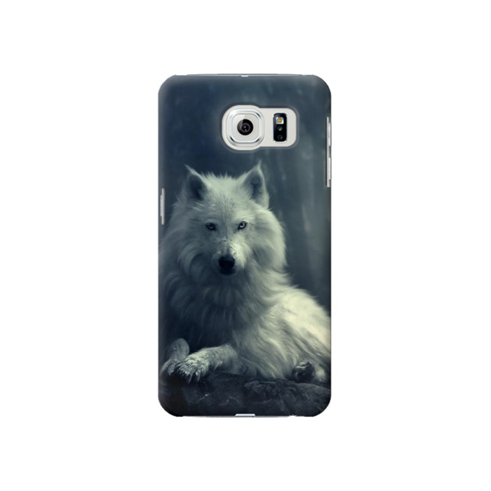 Samsung Galaxy S6 White Wolf Case Cover