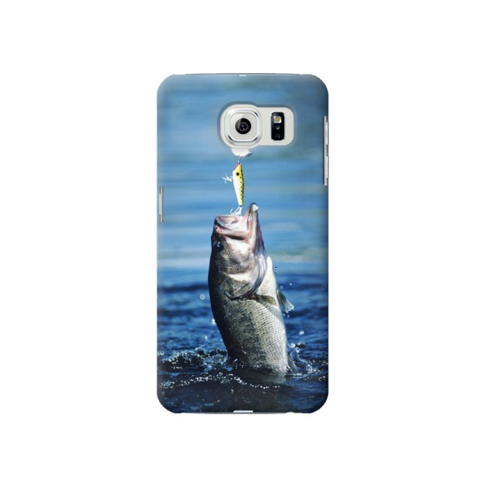 Samsung Galaxy S6 Bass Fishing Case Cover