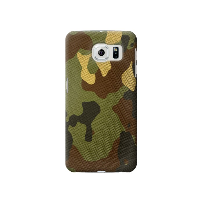 Samsung Galaxy S6 Camo Camouflage Graphic Printed Case Cover