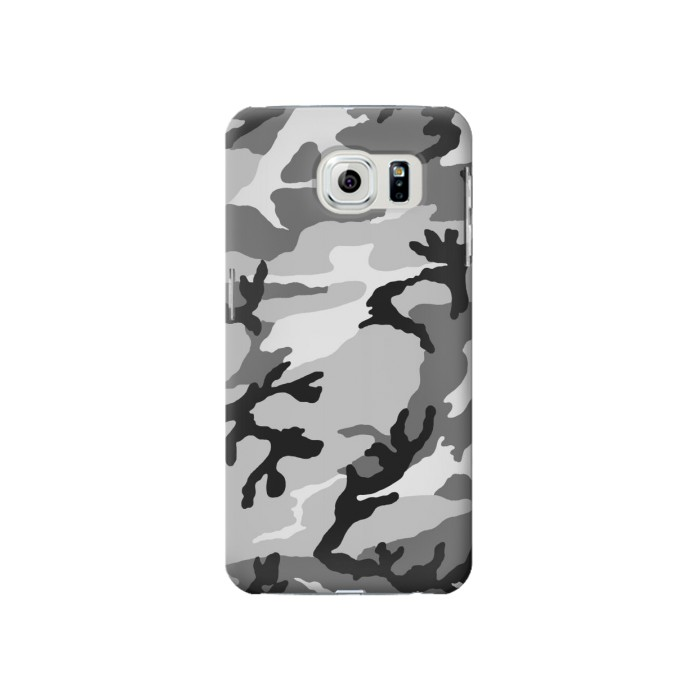 Samsung Galaxy S6 Snow Camo Camouflage Graphic Printed Case Cover