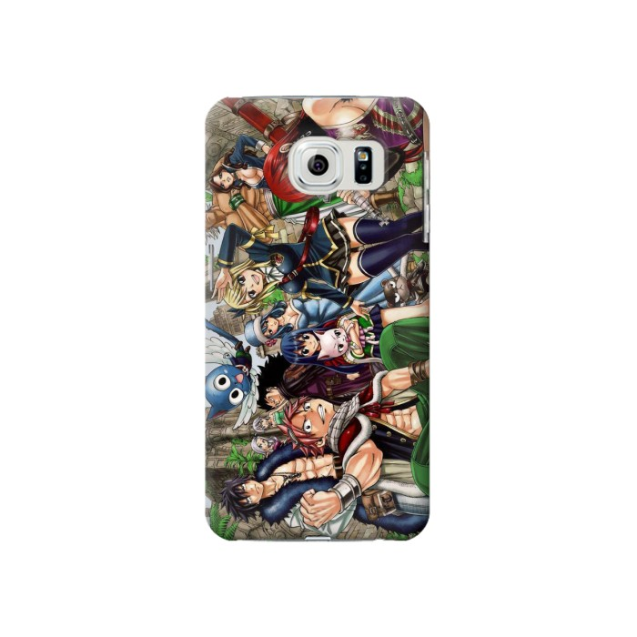 Printed Fairy Tail Guild Members Samsung Galaxy S6 Case