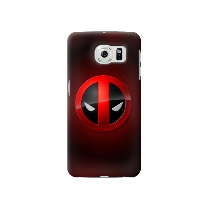 Printed Deadpool Samsung Galaxy S6 Case