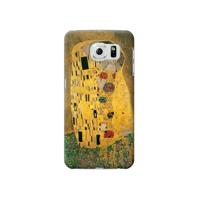 Printed Gustav Klimt The Kiss Samsung Galaxy S6 Case