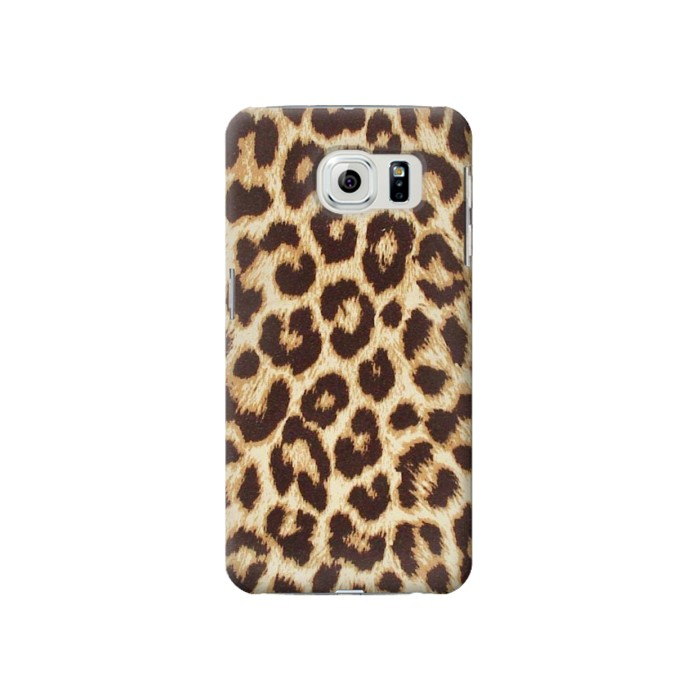 Samsung Galaxy S6 Leopard Pattern Graphic Printed Case Cover
