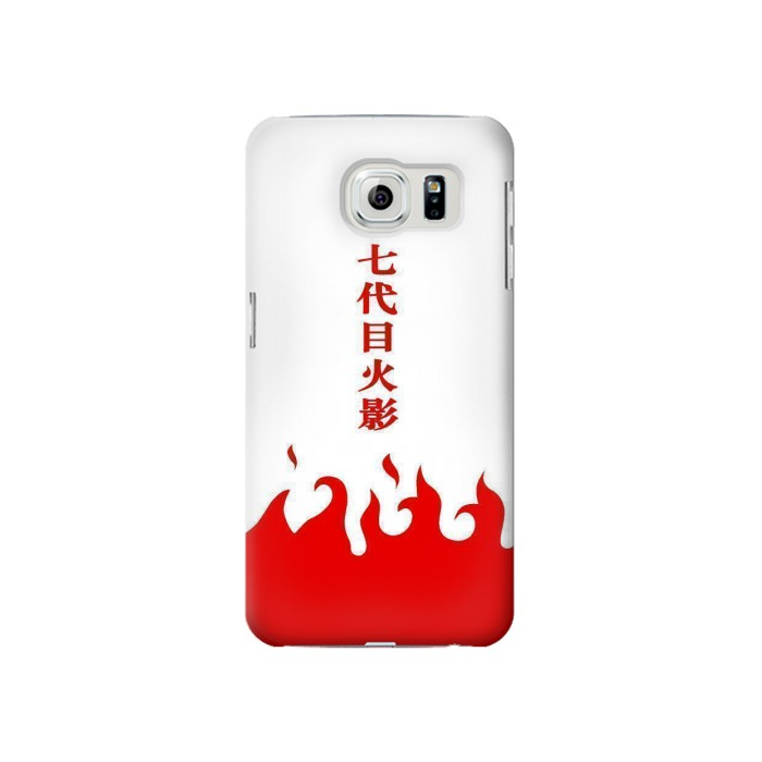 Printed Naruto 7th Hokage Cloak White Samsung Galaxy S6 Case