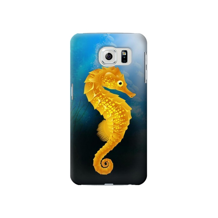 Printed Seahorse Underwater World Samsung Galaxy S6 Case