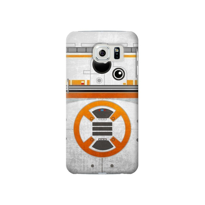 Samsung Galaxy S6 BB-8 Rolling Droid Minimalist Case Cover