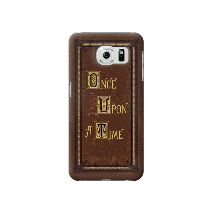 Printed Once Upon a Time Book Cover Samsung Galaxy S6 Case