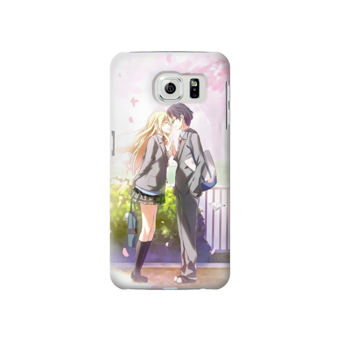 Printed Shigatsu wa Kimi no Uso Your Lie in April Kousei Kaori Samsung Galaxy S6 Case