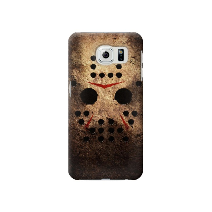 Printed Jason Hockey Mask Samsung Galaxy S6 Case