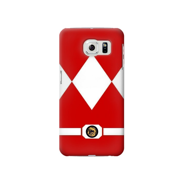 Printed Mighty Morphin Power Ranger Minimalist Samsung Galaxy S6 Case