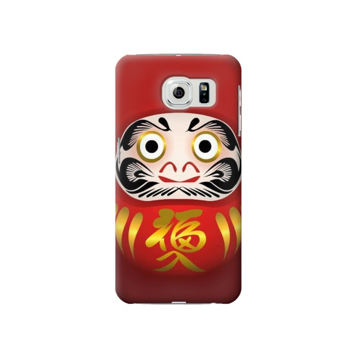 Printed Japan Daruma Doll Samsung Galaxy S6 Case