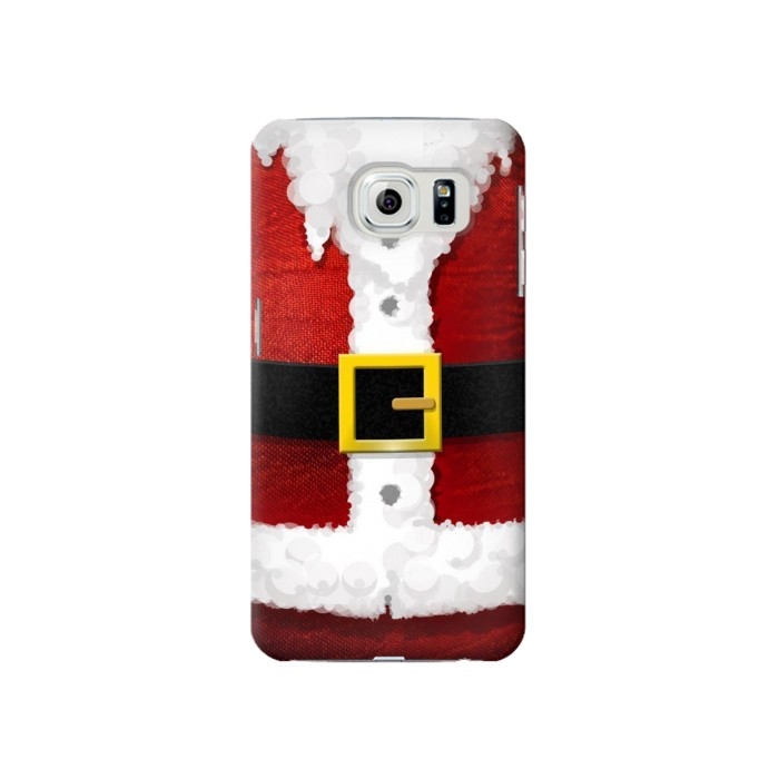 Printed Christmas Santa Red Suit Samsung Galaxy S6 Case