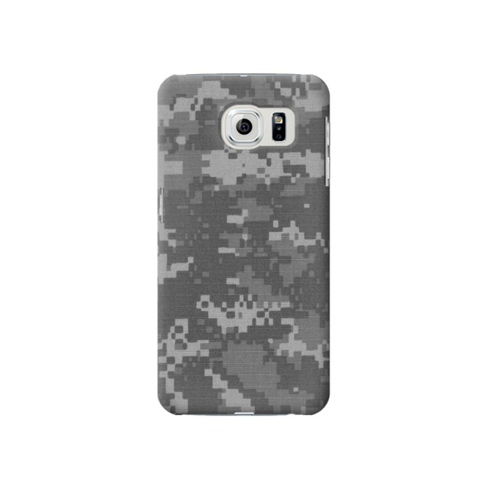 Printed Army White Digital Camo Samsung Galaxy S6 Case