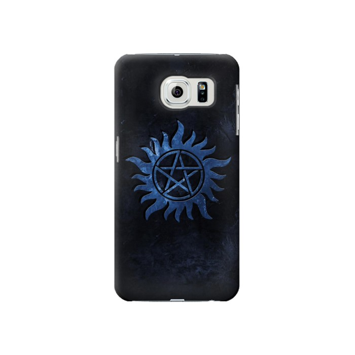 Printed Supernatural Anti Possession Symbol Samsung Galaxy S6 Case