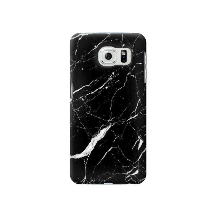 Printed Black Marble Graphic Printed Samsung Galaxy S6 Case