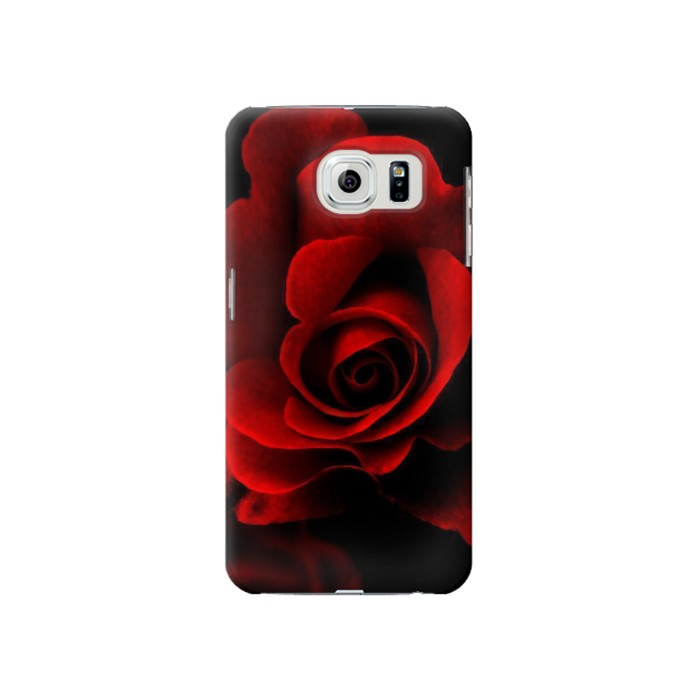 Printed Red Rose Samsung Galaxy S6 Case