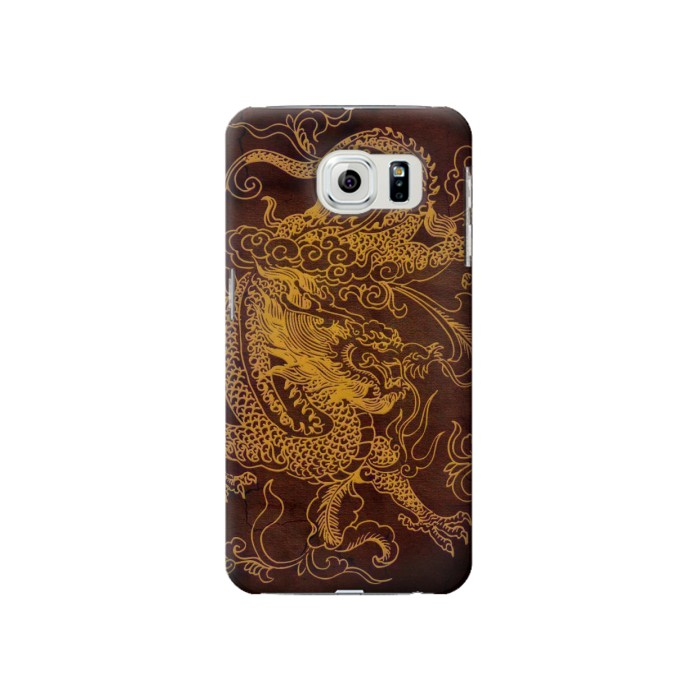 Printed Chinese Dragon Samsung Galaxy S6 Case