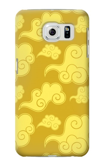 Printed Asian Clouds Pattern Samsung Galaxy S6 Case