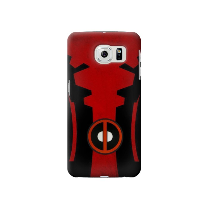 Printed Deadpool Costume Minimalist Samsung Galaxy S6 Case