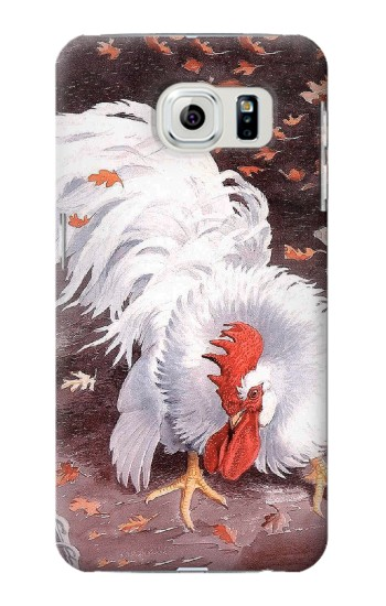 Printed Leghorn Cockerel Rooster Samsung Galaxy S6 Case