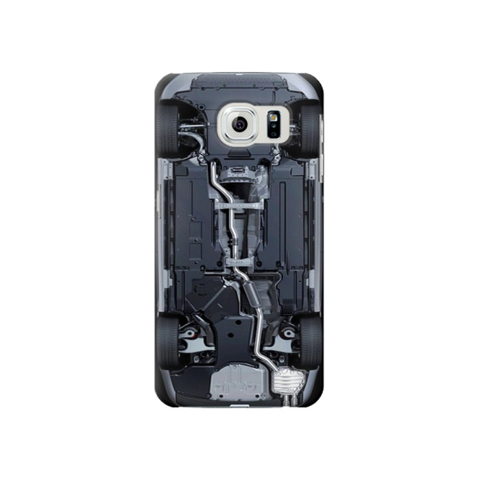 Printed Car Underbody Samsung Galaxy S6 Case