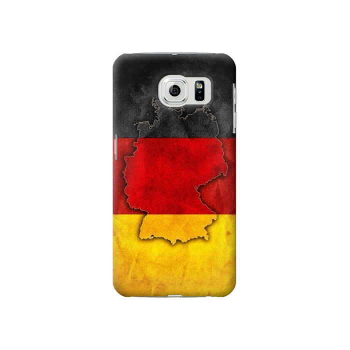 Printed Germany Flag Map Samsung Galaxy S6 Case