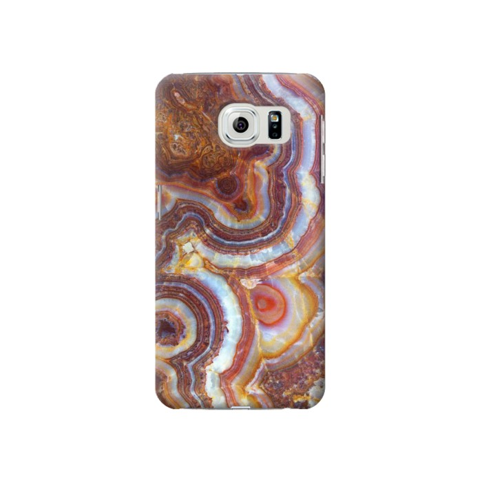 Printed Colored Marble Texture Printed Samsung Galaxy S6 Case