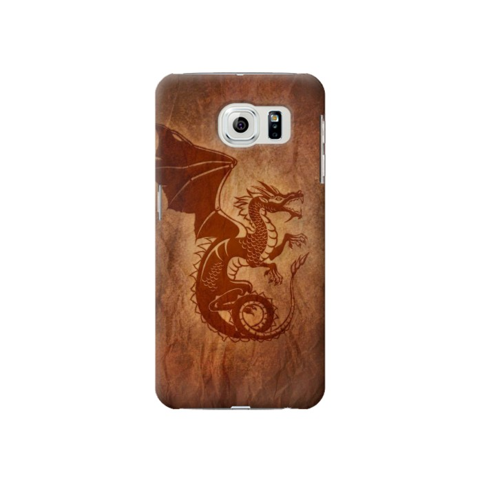 Printed Red Dragon Tattoo Samsung Galaxy S6 Case