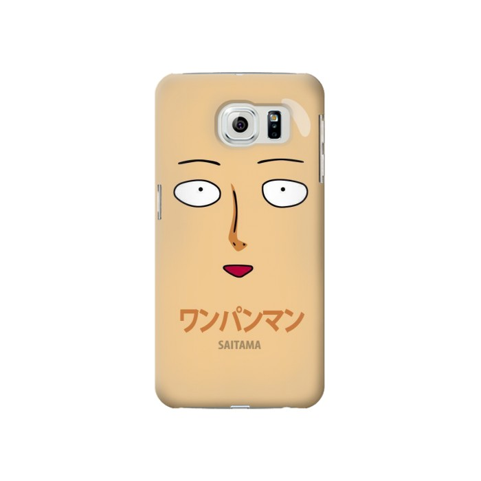 Printed Saitama One Punch Man Samsung Galaxy S6 Case