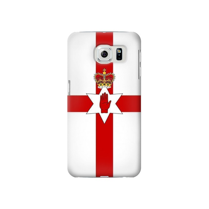 Printed Flag of Northern Ireland Samsung Galaxy S6 Case