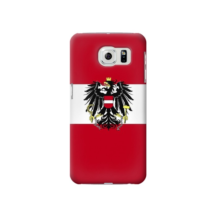 Printed Variant flag of Austria Samsung Galaxy S6 Case
