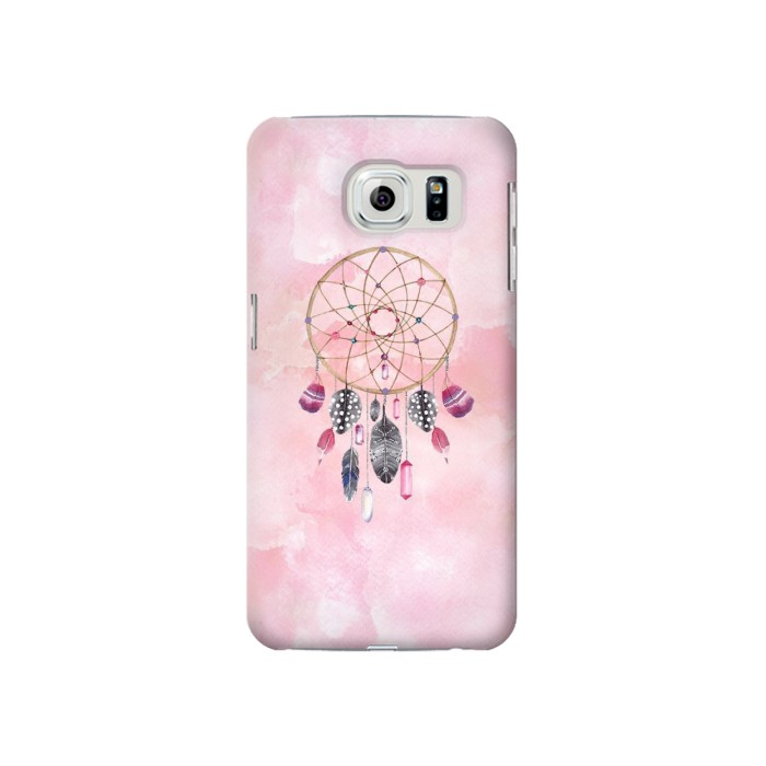 Printed Dreamcatcher Watercolor Painting Samsung Galaxy S6 Case