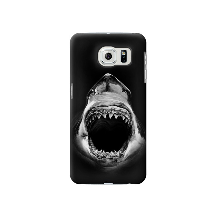 Printed Great White Shark Samsung Galaxy S6 Case