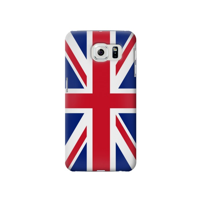 Printed Flag of The United Kingdom Samsung Galaxy S6 Case